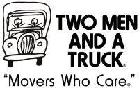 Two Men and a Truck Central Illinois company logo