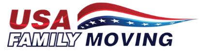 USA Family Moving company logo
