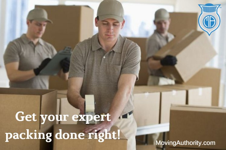 expert packing by moving company