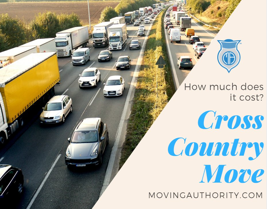 how much does it cost to move cross country