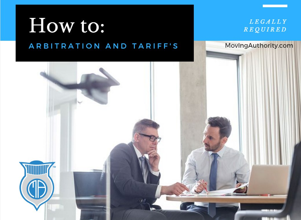 how to arbitration tariff