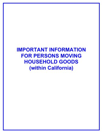 Important information for household goods moving in california340x437
