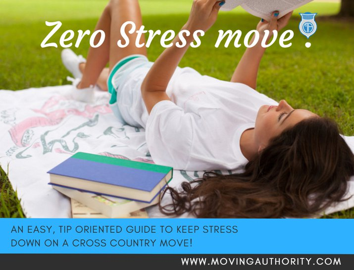 KEEP STRESS DOWN ON A CROSS COUNTRY MOVE