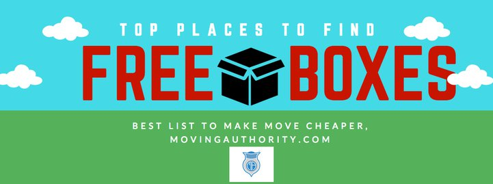 List of places to find free moving boxes