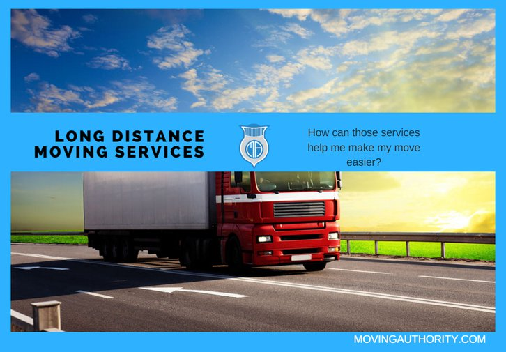 LONG DISTANCE MOVING SERVICES