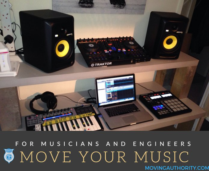 moving audio musician equipment engineer