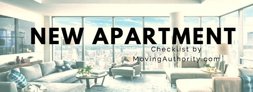 The New Apartment Checklist