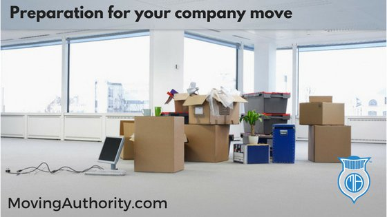 Preparing for a Business Move