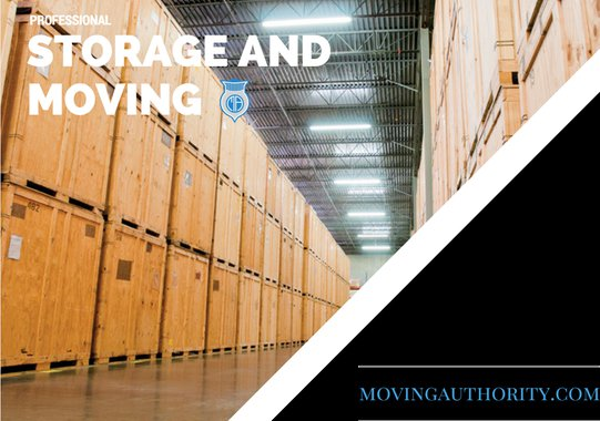 professional moving and storage