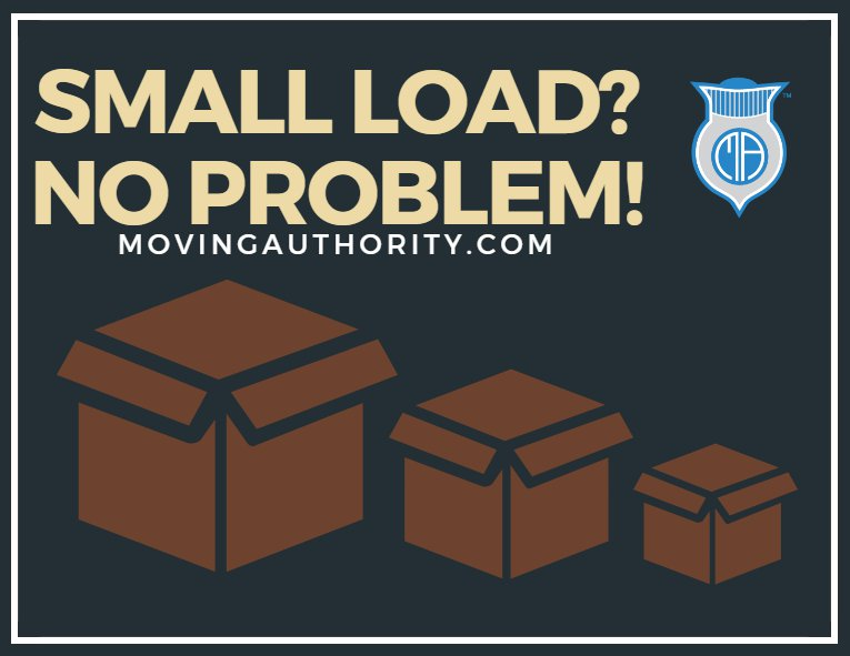 small load moving