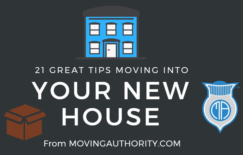 tips move new house