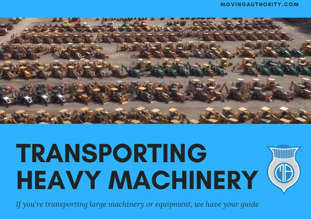 transporting heavy machinery and equipment