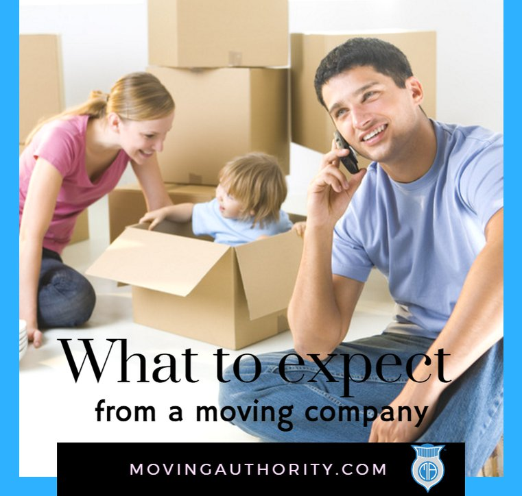 WHAT TO EXPECT MOVING COMPANY