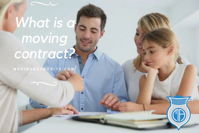 WHAT IS A MOVING CONTRACT